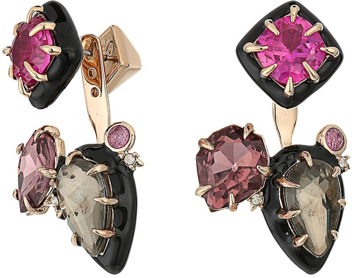Alexis Bittar Alexis Bittar Custom Gemstone Stud w/ Removable Ear Jacket Earrings