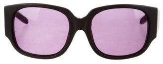 Alexander Wang Tinted Leather Sunglasses