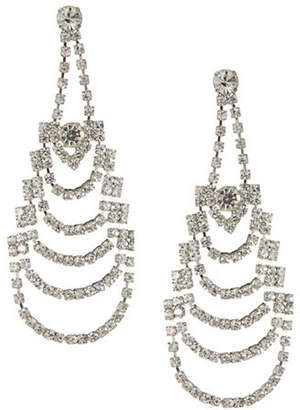 HBC EXPRESSION Five-Row Cup Chain Earrings