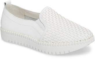 Bernie Mev. Stretch Woven Platform Sneaker