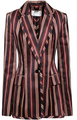 Zimmermann Striped Cotton-blend Twill Blazer