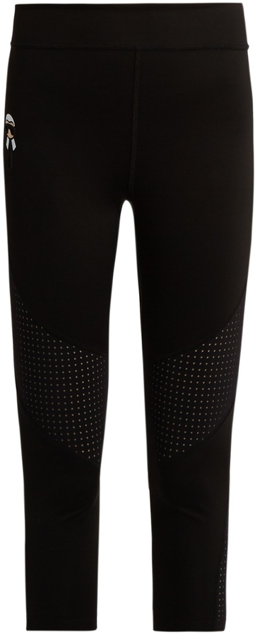 FENDI Karlito cropped performance leggings