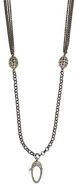 "Nina Gilin Women's Diamond Multi-Strand Necklace/32"""