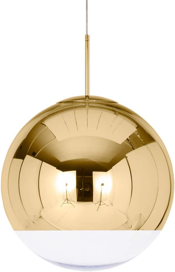 Tom Dixon - Mirror Ball Gold Pendelleuchte Ø 50 cm