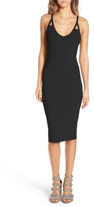 Women's Leith Cutout Strap Body-Con Dress $55 thestylecure.com