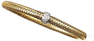 Roberto Coin Diamond Primavera Bracelet, Yellow Gold