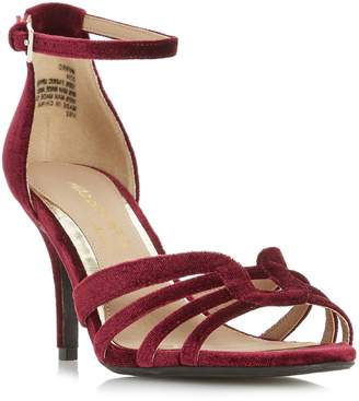 Head Over Heels Munro Strappy Low 2 Part Sandals