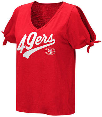 Touch by Alyssa Milano Women's San Francisco 49ers First String T-Shirt
