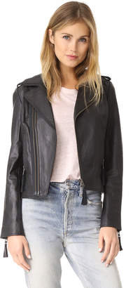 Joie Ailey Leather Jacket $898 thestylecure.com