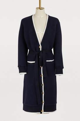 Thom Browne Long wool cardigan