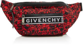 Givenchy Printed Shell Belt Bag