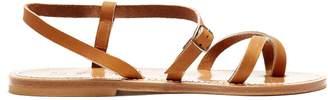 K.JACQUES Calcutta leather sandals $176 thestylecure.com