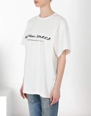 MM6 MAISON MARGIELA (エムエム6 メゾン マルジェラ) - MM6 MAISON MARGIELA ベーシック コットン tシャツ