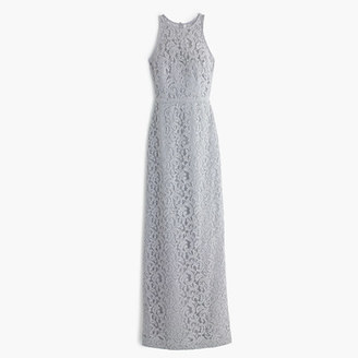 Pamela long dress in Leavers lace $298 thestylecure.com