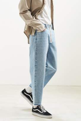 BDG Exposed Zipper Straight Cropped Jean