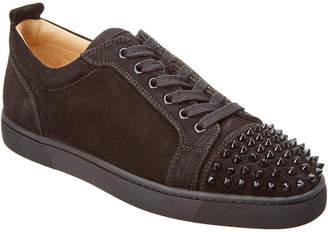 Christian Louboutin Louis Junior Spikes Suede Sneaker
