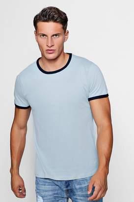 boohoo Ringer T-Shirt