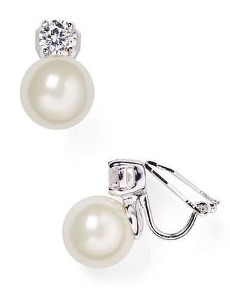 Ralph Lauren Faux Pearl Clip-On Earrings