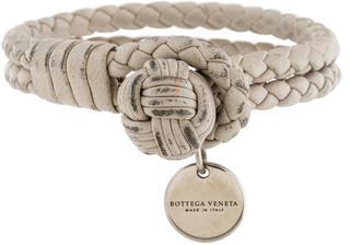 Bottega VenetaBottega Veneta Intrecciato Nappa Wrap Bracelet