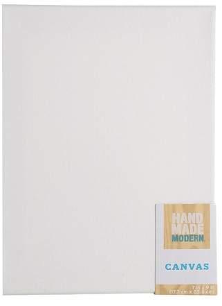 Hand Made Modern Rectangular Canvas White
