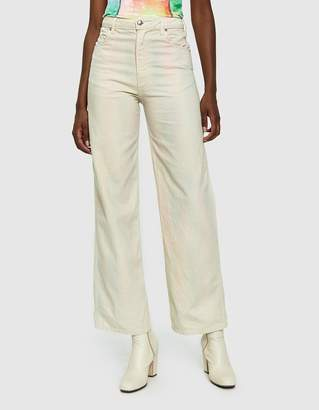 Eckhaus Latta Wide Leg Jean in Soft Watercolor