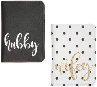 Celebrate Shop Hubby & Wifey Passport Cases