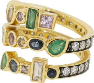 Sorellina Multi-Color Coil Ring