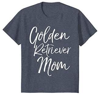 Golden Retriever Mom Shirt Fun Dog Mother Tee