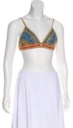 Camilla Printed Swim Top