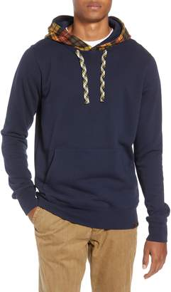 Scotch & Soda Contrast Hooded Pullover