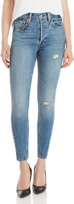 Levi's Altered 501 High-Rise Skinny Jeans