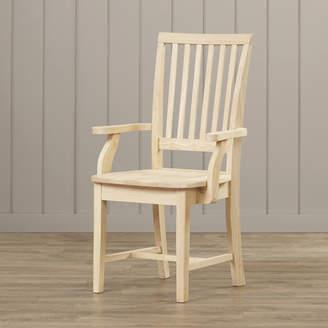 Loon Peak Pleasanton Solid Wood Dining Chair