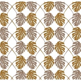 Pin It Cavern Home Split Leaf Wallpaper Amber