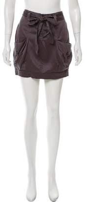 Robert Rodriguez Mini Cargo Skirt