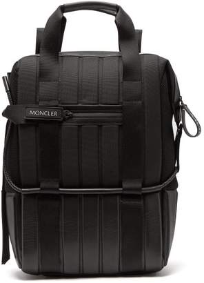 Craig Green 5 Moncler Quilted Technical Backpack - Mens - Black
