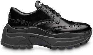 Prada chunky perforated sneakers