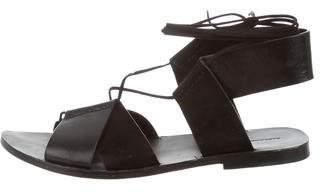 Alexander Wang Multistrap Lace-Up Sandals