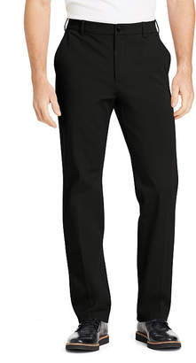 Izod Advantage Performance 4-Way Sportflex Comfort Chino Straight Fit Flat Front Pants