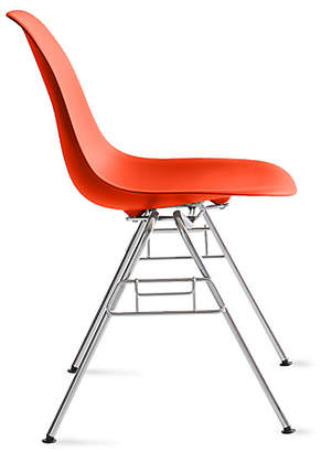 Design Within Reach Eames Molded Plastic Stacking Side Chair (DSS)