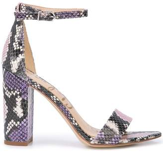 Sam Edelman snake-effect sandals