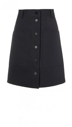 Urban Stretch Snap Cargo Skirt $345 thestylecure.com
