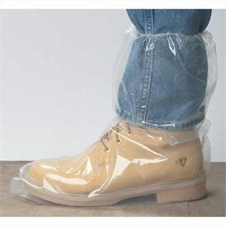 The Safety Zone Seidman Associates BPD5-XXL-5E Polyethylene Boots with Elastic Cuff XXL