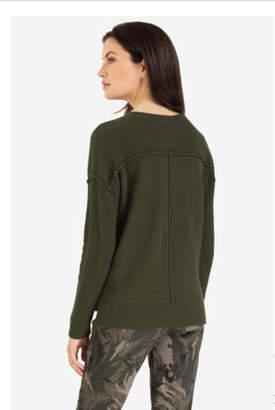 Tribal Military Crew Sweater