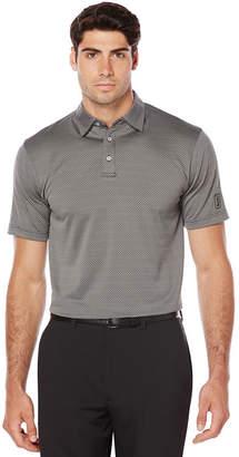 PGA Tour Tour Short Sleeve Jacquard Jacquard Polo Shirt