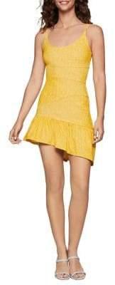 BCBGeneration Abstract Stripe Bodycon Dress