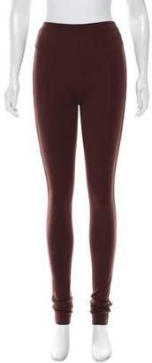 Rick Owens Cashmere Straight-Leg Pants