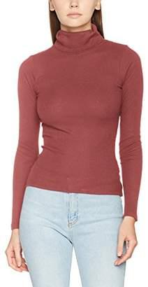 New Look Women Ribbed Funnel Neck Top,UK (44 EU)