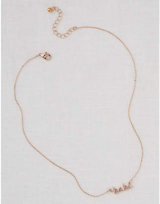 aerie Script Necklace
