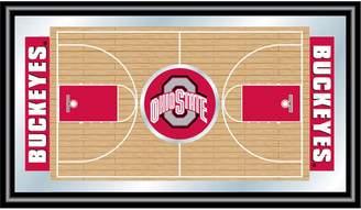 NCAA Kohl's Ohio State Buckeyes Framed Basketball Court Wall Art