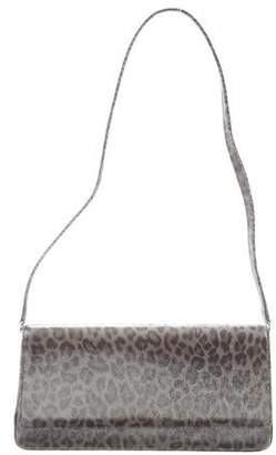 Manolo Blahnik Printed Shoulder Bag